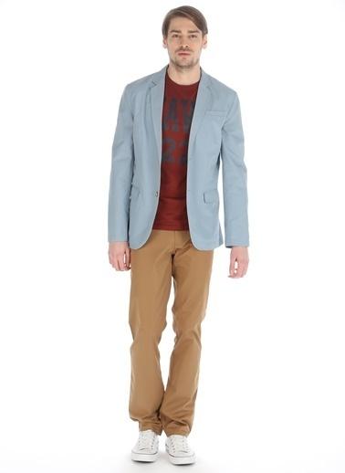 Asymmetry Ceket Mavi